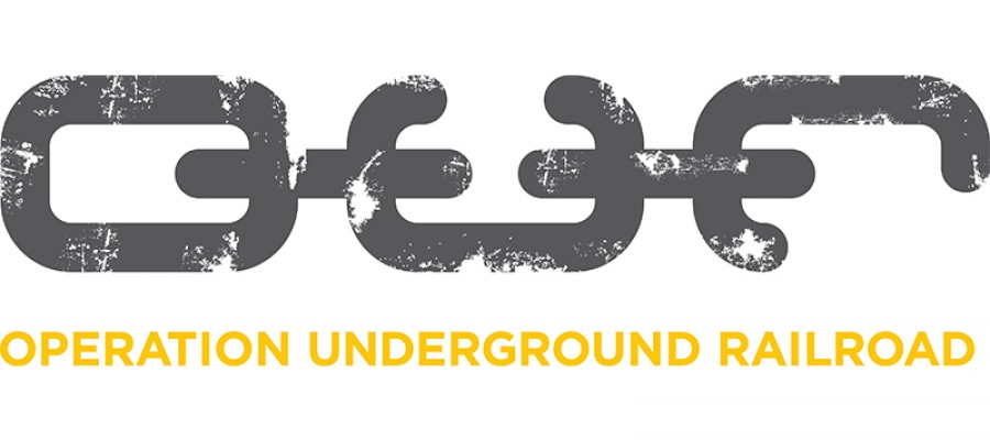 Logo for Underground Railroad and PILA.