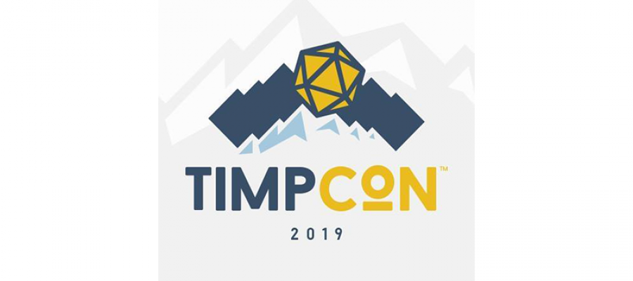 Logo for TimpCon 2019.