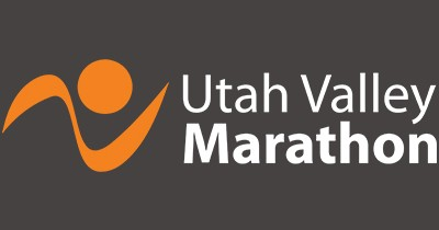 Logo for the Utah Valley Marathon, Half Marathon & 10K