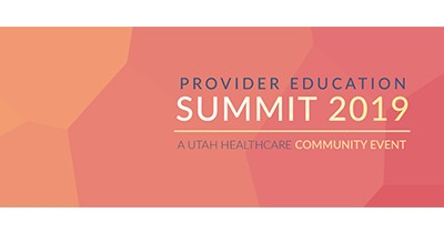2019 Provider Education Summit Logo