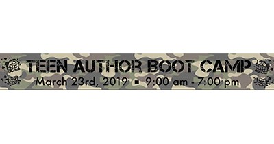 Photo of Teen Author Boot Camp Logo.