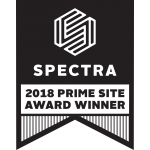 Spectra 2018 Prime Site Award Winner